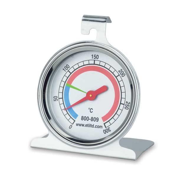 thermomètre four rond