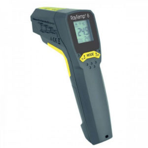 Thermomètre laser circulaire