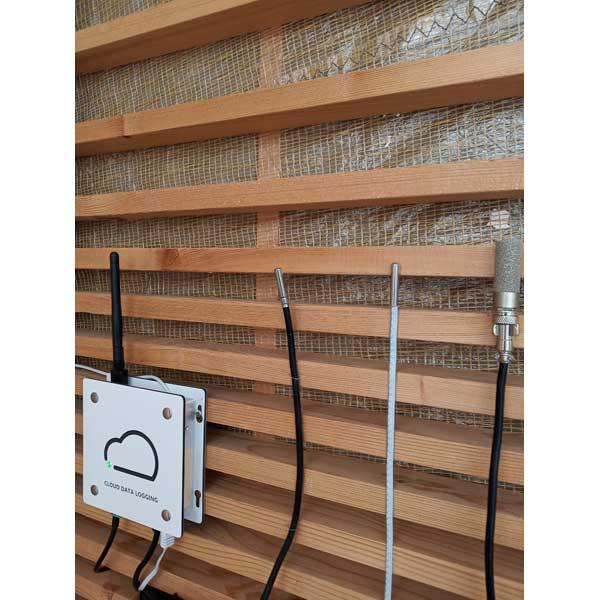 Enregistreur température avec 4 sondes externes, wifi, données sur le web