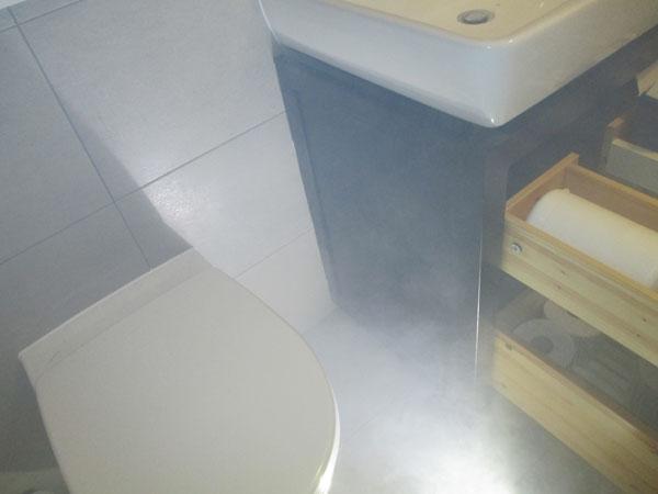 problème odeur salle de bains
