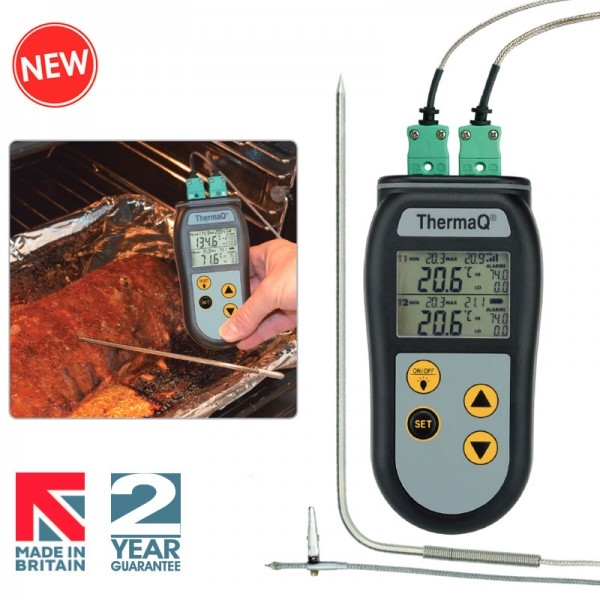 Therma Q thermomètre 2 canaux